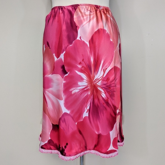 Victoria's Secret Dresses & Skirts - Victoria's Secret Silk Slip Skirt